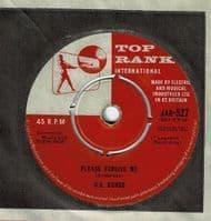 GARY U.S. BONDS New Orleans Vinyl Record 7 Inch Top Rank 1960 Signed